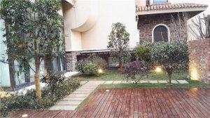 天著别墅,美式花园效果图