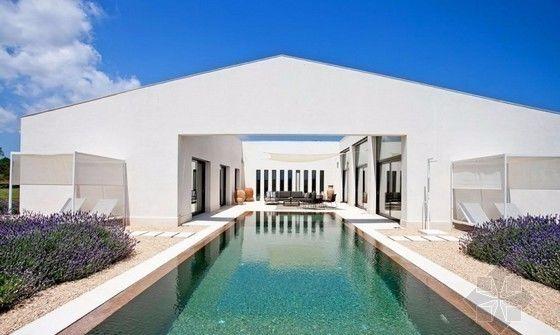 豪华度假别墅,地中海风格庭院