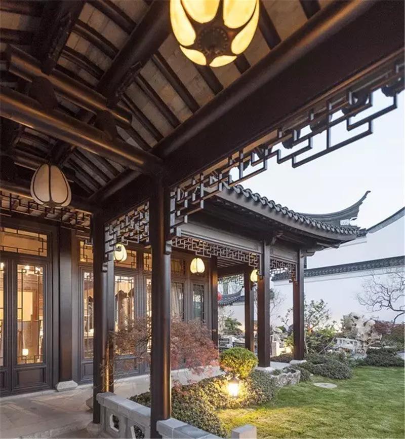 传统的四方天地,中式庭院