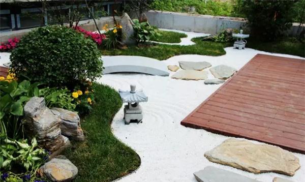 溪树庭院样板小院,日式风格庭院