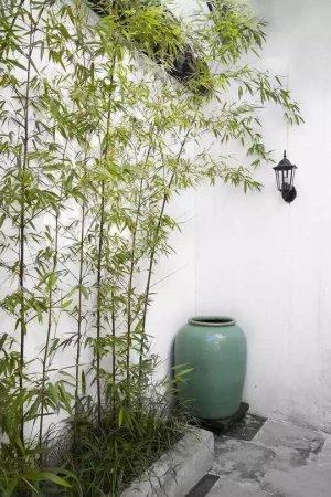 典雅温润的质朴之家,苏式庭院景观
