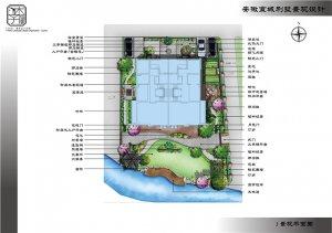 安徽宣城张小姐别墅花园景观设计