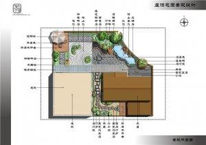 成都置信云影苑王先生屋顶花园景观设计