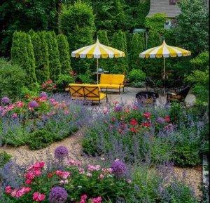 布鲁克莱花园,美式田园风庭院景观