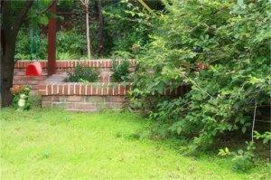 带菜地一层简约大气农村庭院设计,混合美式风格
