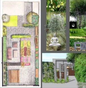 【案例分享】休闲花园,100平小庭院设计实景图