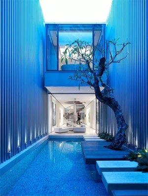 私家庭院,创意别墅庭院设计效果图大全
