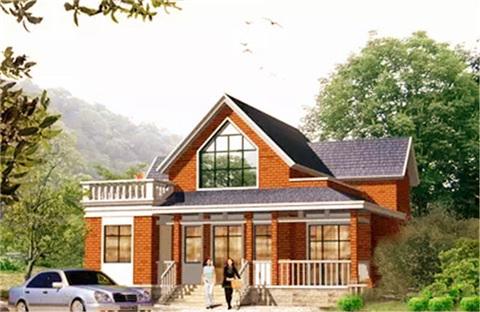 20~30万的别墅设计施工,自建房庭院设计效果图大全