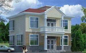 新农村自建别墅设计图大全,农村自建二层房设计,别墅装修效果图大全