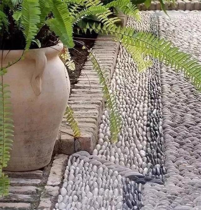 私家庭院设计,碎石和院子的组合,让其灵动又美丽