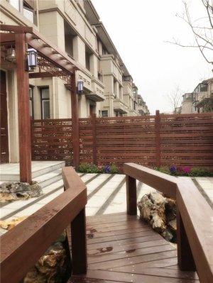 吴中区御江山徐总庭院大雪来临前完美收工!