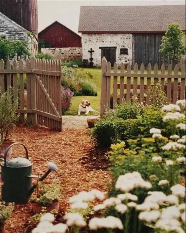 私家庭院设计:乡间小院,最美田园风