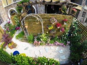 花园庭院私家庭院设计,50平花园改造案例