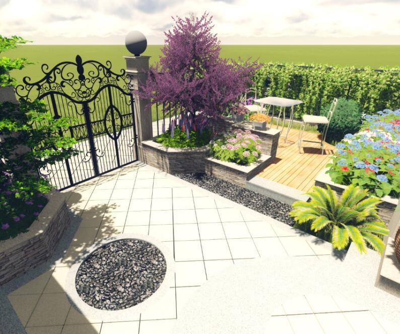 苏州建邦唯园庭院景观设计