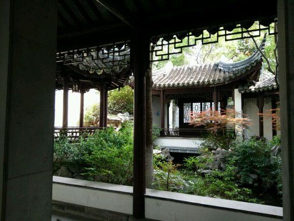 精致的苏式园林式小庭院