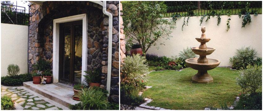 地中海庭院风格 欧式庭院景观新风尚