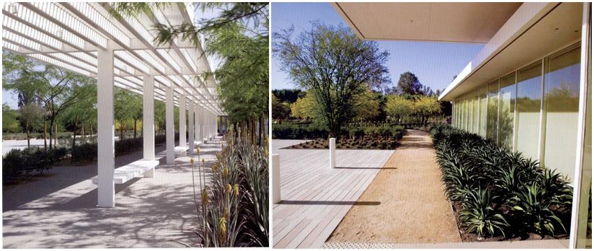 沙漠里的私家园林景观设计 看大师如何为其华丽变身