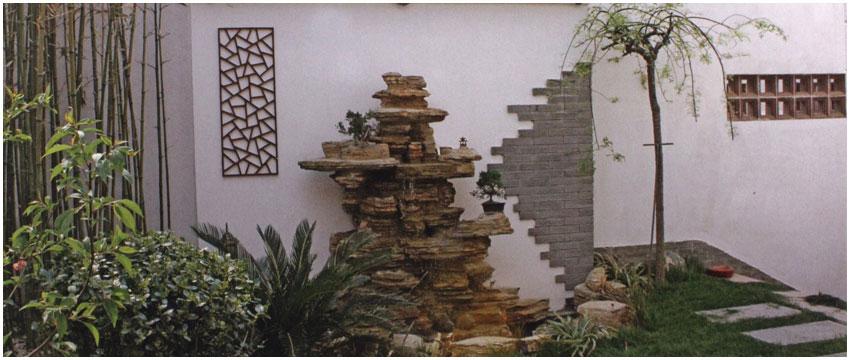 精美绝伦的中式 庭院景观设计