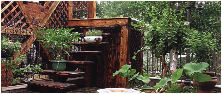 中式别墅庭院设计