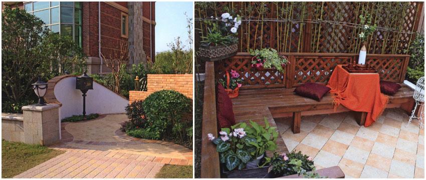 苏州别墅庭院设计 小而美景观