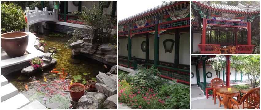 私家别墅景观设计  苏州香山客户信赖方田木子园艺